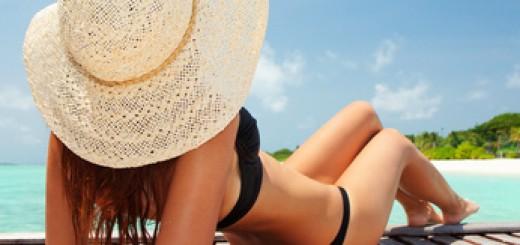 Bronzage à la plage